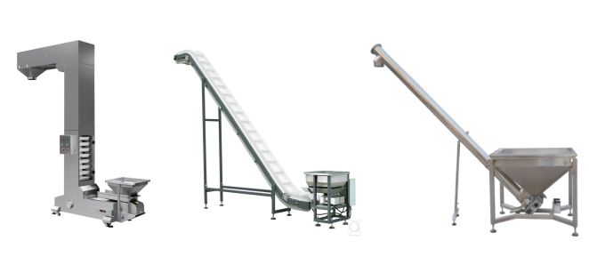 Lifting system of packaging machine