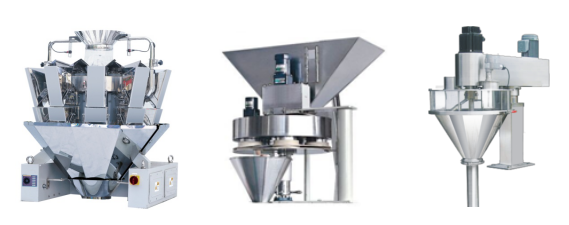Weighing system of packaging machine